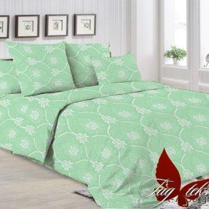 купить Постельное белье TAG R7005 green Зеленый фото
