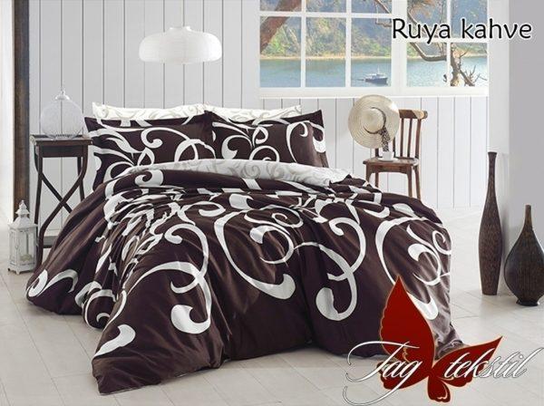 купить Постельное белье TAG Ruya kahve Коричневый фото