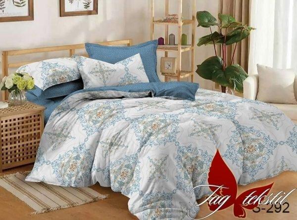 купить Постельное белье TAG S292 Голубой фото