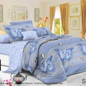 купить Постельное белье TAG S334 Голубой фото
