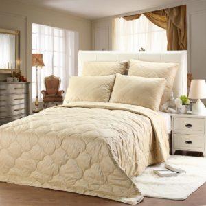купить Одеяло Arya Luxury Camel Wool Бежевый фото