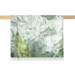 купить Плед Arya Marble Зеленый фото