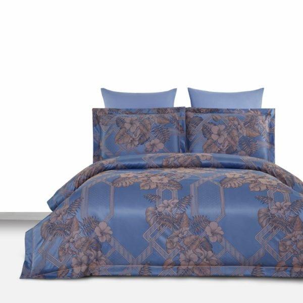 купить Постельное белье Arya Бамбук Tencel Emili Голубой фото