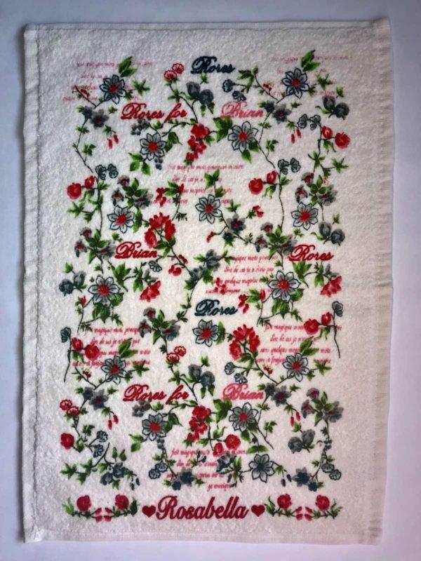 купить Кухонное полотенце Melih махра Rosabella for Braian Розовый фото