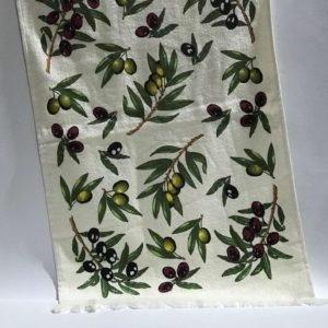 купить Кухонное полотенце Melih Olives Зеленый фото