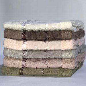 купить Набор махровых полотенец Miss Cotton хлопок Птицы 6 шт  фото