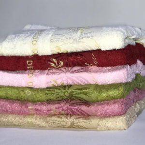 купить Набор махровых полотенец Miss Cotton Bamboo Gold 6 шт  фото