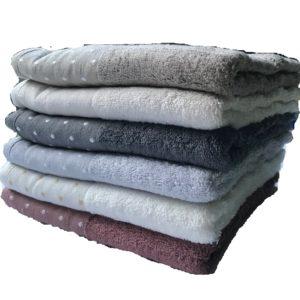 купить Набор махровых полотенец Miss Cotton Bamboo Pirlanta 6 шт  фото