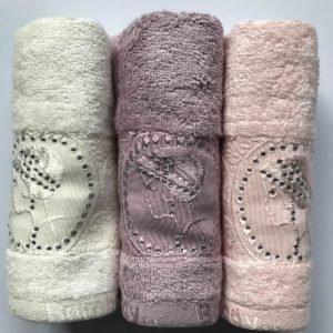 купить Набор махровых полотенец Sikel Bamboo 1 Lady 3 шт  фото