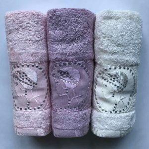купить Набор махровых полотенец Sikel Bamboo 2 Lady 3 шт  фото