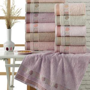 купить Набор махровых полотенец Sikel Bamboo Bahar 6 шт  фото