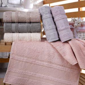 купить Набор махровых полотенец Sikel Bamboo Ekinos 6 шт  фото