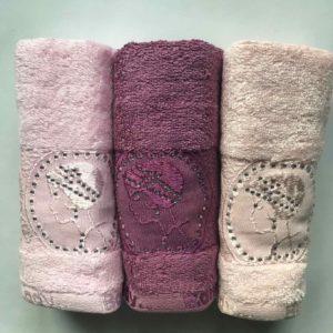 купить Набор махровых полотенец Sikel Bamboo Lady 3 шт  фото