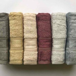 купить Набор махровых полотенец Sikel Bamboo Pirlanta 6 шт  фото