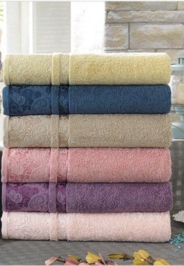купить Набор махровых полотенец Sikel Cotton Hazal 6 шт  фото