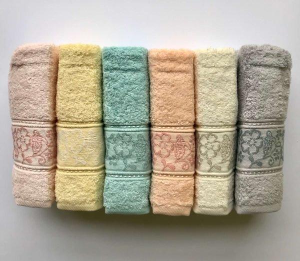 купить Набор махровых полотенец Sikel Cotton Selen 6 шт  фото