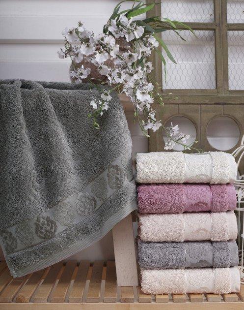 купить Набор махровых полотенец Sikel Cotton Tugra 6 шт  фото