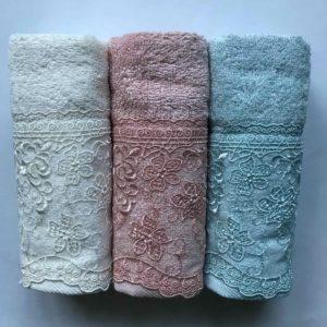 купить Набор махровых полотенец Sikel Organic Bamboo Istanbul 3 шт v.2  фото