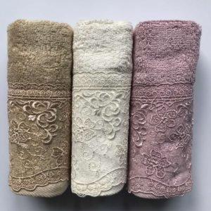 купить Набор махровых полотенец Sikel Organic Bamboo Istanbul 3 шт v.4  фото