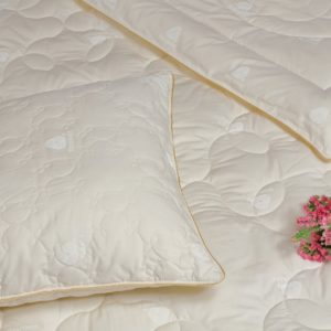 купить Одеяло шерстяное TAC Yun Кремовый фото