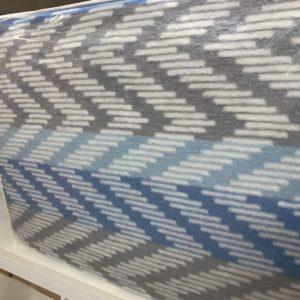 купить Плед TAC Cotton Battaniye Capri голубой Голубой фото