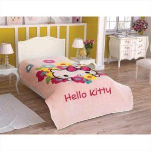 купить Плед TAC Disney Hello Kitty Flowers Розовый фото