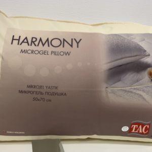 купить Подушка микрогелевая TAC Harmony Mikrogel Silikon Белый фото