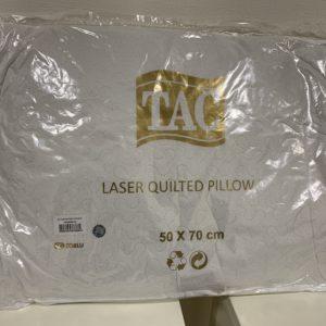 купить Подушка TAC Lazer Kapitone Белый фото