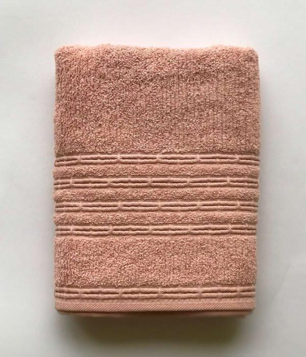 купить Полотенеце махровое Gold Soft Life Cotton Deniz пудровый Розовый фото