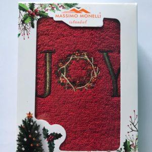 купить Полотенце Massimo Monelli Joy красное Красный фото