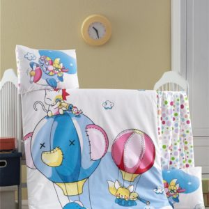купить Постельное белье для младенцев Victoria Ранфорс Macera Голубой фото