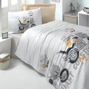 купить Постельное белье для подростков Victoria ранфорс Style Серый фото