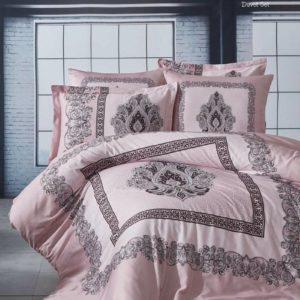 купить Постельное белье The Club Cotton сатин Butica Hollis Розовый фото
