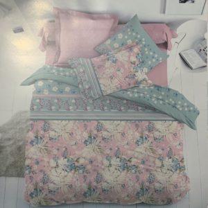 купить Постельное белье Zugo Home ранфорс Susumi Розовый фото