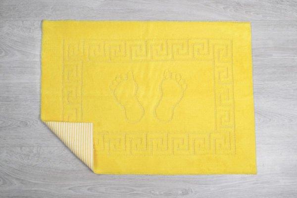 купить Коврик для ванной Lotus желтый Желтый фото