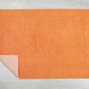 купить Коврик для ванной Lotus оранжевый Оранжевый фото