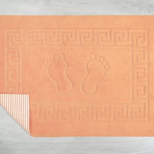 купить Коврик для ванной Lotus оранж Оранжевый фото