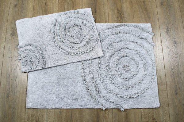 купить Набор ковриков Irya - Capri gri Серый фото