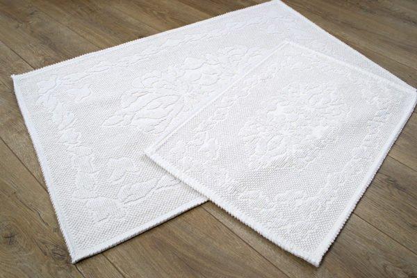 купить Набор ковриков Irya - Carissa ekru Белый фото