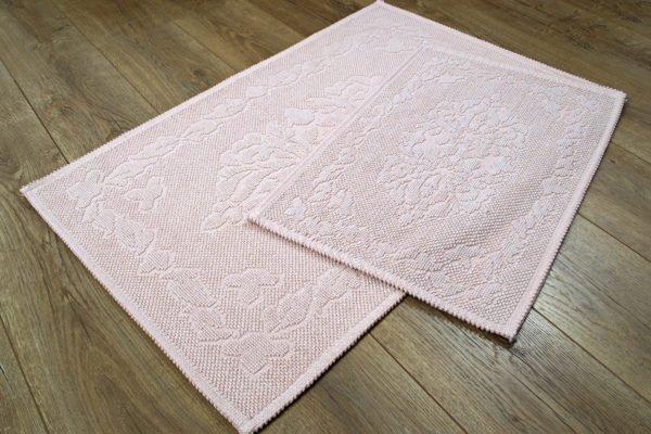 купить Набор ковриков Irya - Carissa pudra Розовый фото