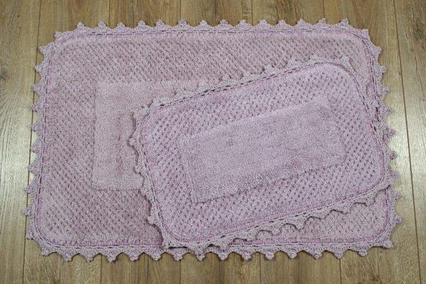 купить Набор ковриков Irya - Carmela lila Лиловый фото