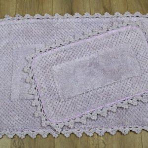купить Набор ковриков Irya - Carmela mor Сиреневый фото