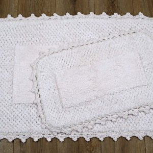 купить Набор ковриков Irya - Carmela pembe Розовый фото