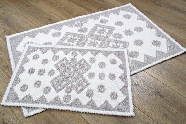 купить Набор ковриков Irya - Culina bej Серый фото