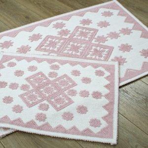 купить Набор ковриков Irya - Culina pudra Розовый фото