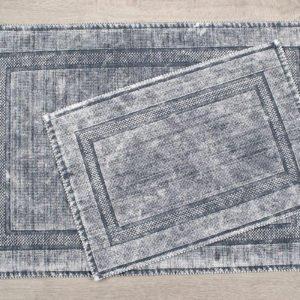 купить Набор ковриков Irya - Empera a.gri Серый фото