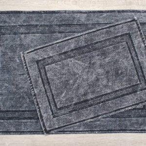 купить Набор ковриков Irya - Empera k.gri Серый фото