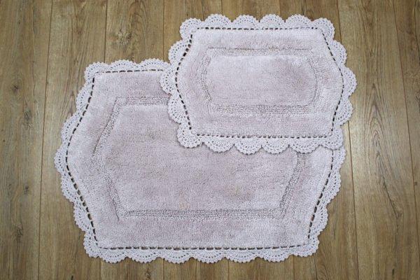 купить Набор ковриков Irya - Hena lila Лиловый фото
