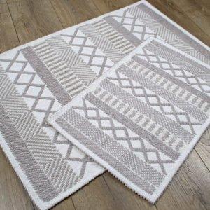 купить Набор ковриков Irya - Kitaro bej Серый фото