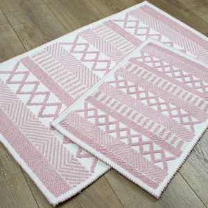 купить Набор ковриков Irya - Kitaro pudra Розовый фото